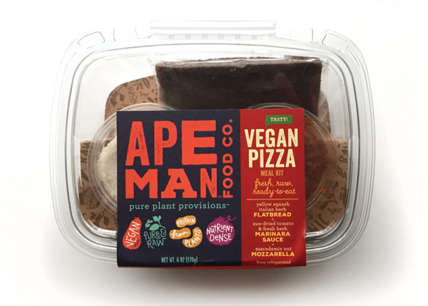 Ape Man Foods Raw Paleo Vegan Meal Kit Branding & Packaging