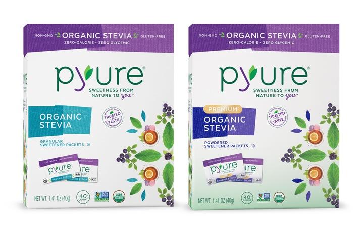 Pyure Sweeteners - Organic Stevia