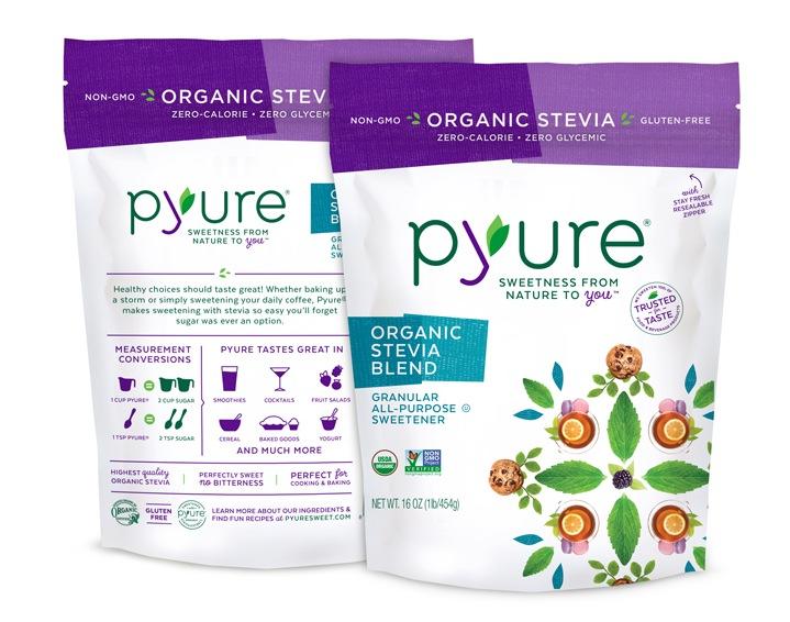 Pyure Sweeteners - Organic Stevia Blend