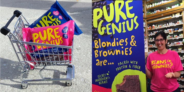 Pure Genius Blondies and Brownies