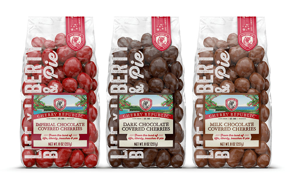Cherry Republic Rebrand & Packaging - by Miller