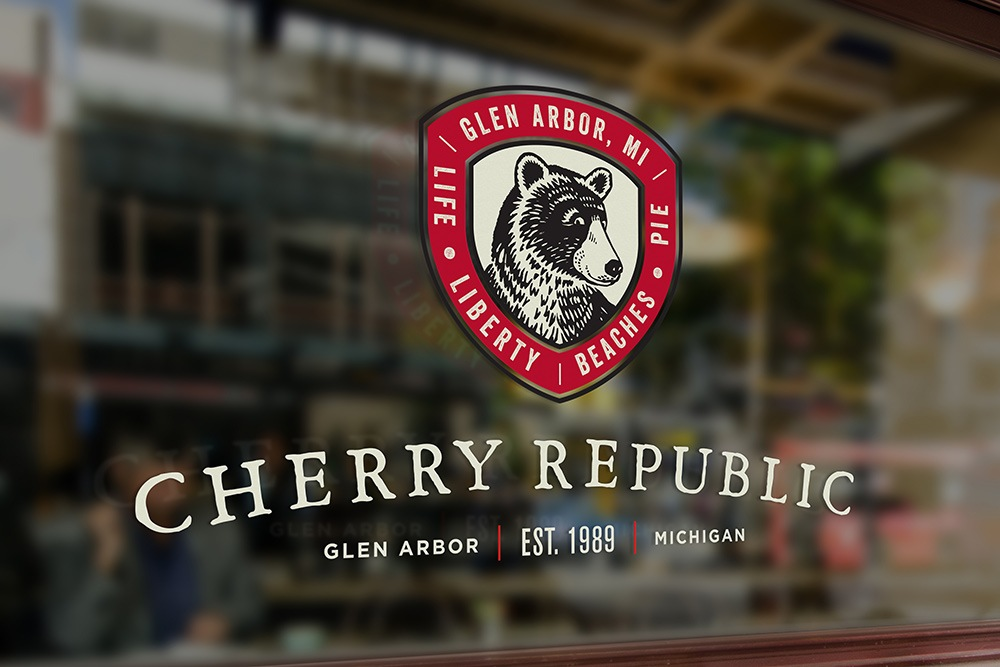 Cherry Republic Rebrand Logo - by Miller