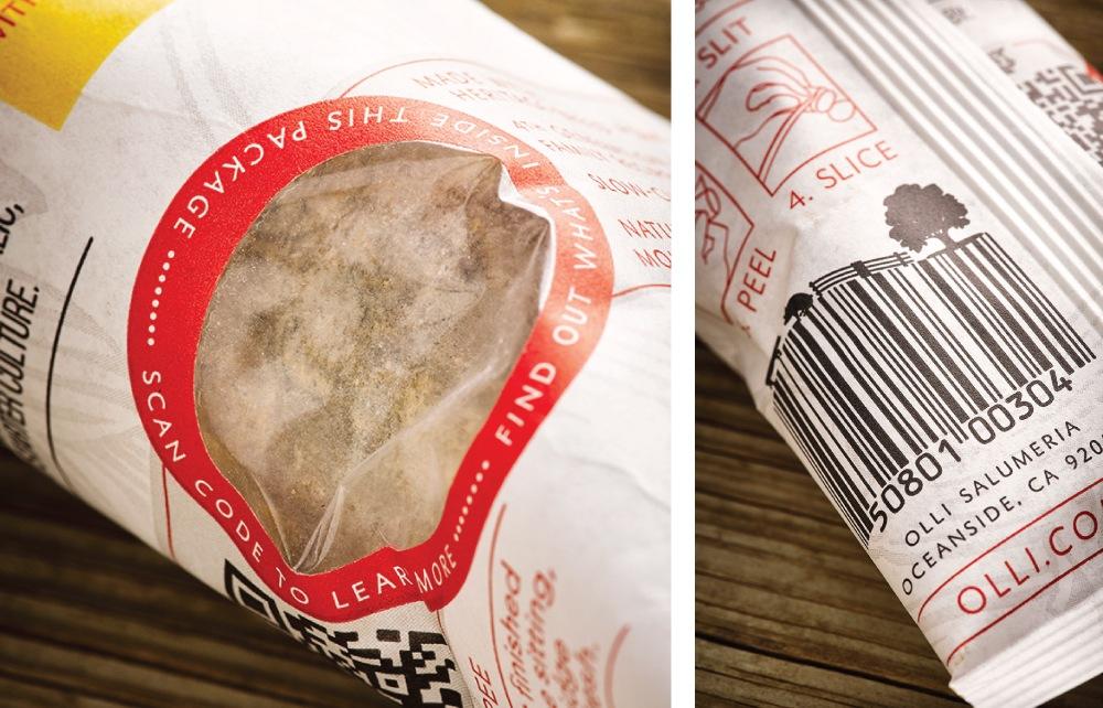 chub packaging detail