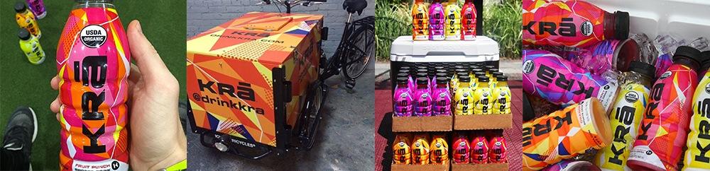 KRA Organic Sports Drink Branding by Miller