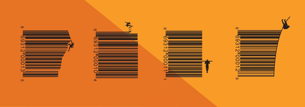 KRA Organic Sports Drink - Vanity Barcodes Features Atheletes