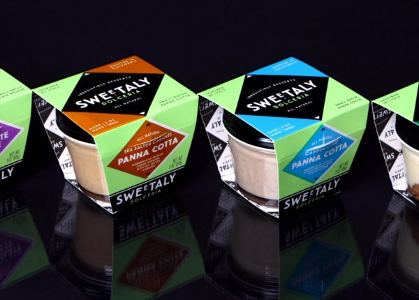 Sweetaly Italian Desserts - Branding and Packaging Design