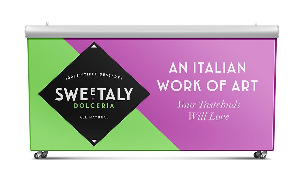 Sweetaly Italian Desserts - Branding