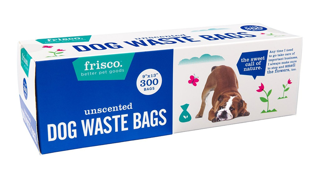 Frisco Pet Branding and Packaging Design - Frisco Dog Waste Packaging