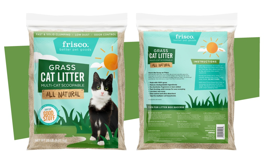 Frisco Branding - Cat Litter Packaging Design