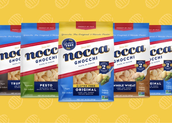Nocca Pasta Brand Packaging