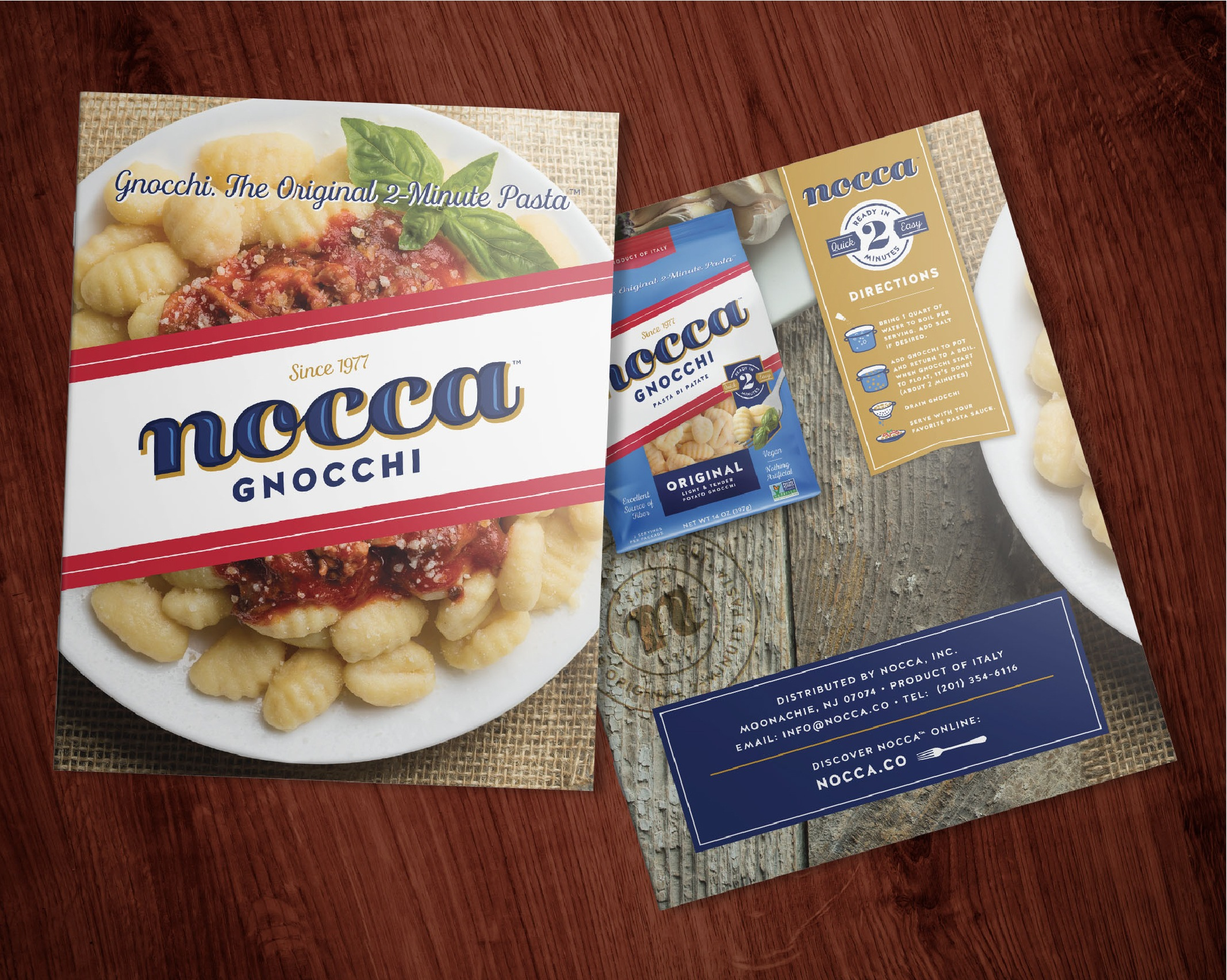 Nocca Pasta Brand Marketing