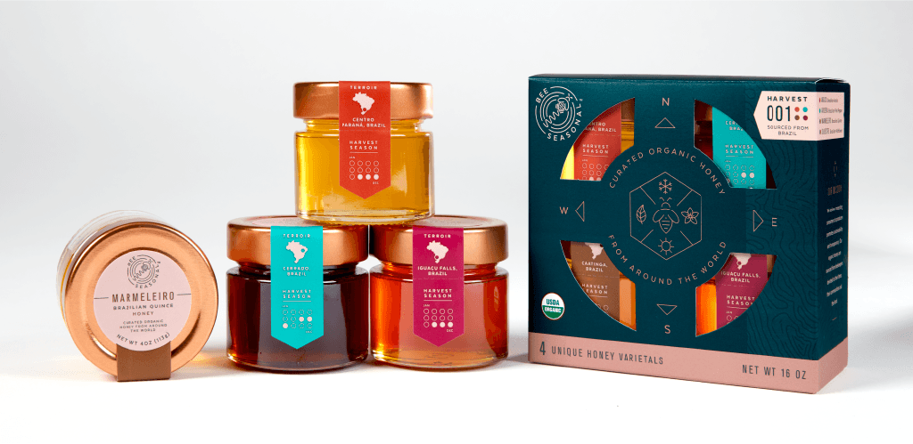 BeeSeasonalHoneyPackaging