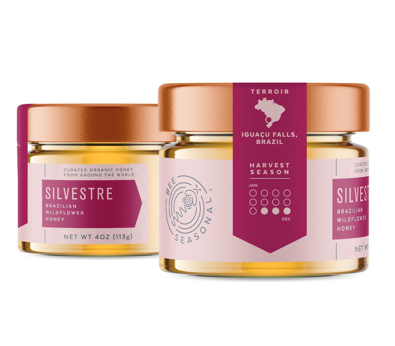 Bee Seasonal Honey Packaging Design